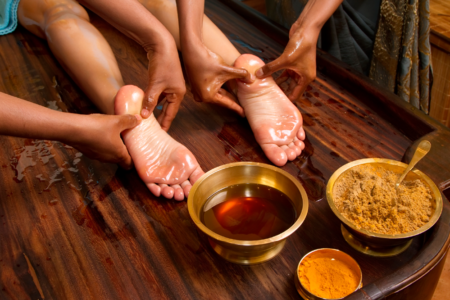 the-miraculous-benefits-of-an-ayurveda-foot-massage
